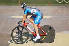 Athletenmitglied des Teamrennens des Kanadiers Lizenzfreie Stockfotografie