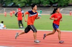 Athletes Stock Images