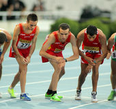 Athletes On The Start Of 10000 Event Royalty Free Stock Photo