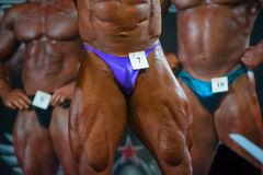 Athletes participate in Bodybuilding Champions Cup Stock Photo