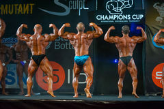 Athletes participate in Bodybuilding Champions Cup Royalty Free Stock Image