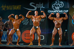 Athletes participate in Bodybuilding Champions Cup Stock Photos
