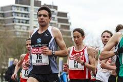 Athletes running Royalty Free Stock Photography