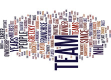 Athletes Who Buy Into The Nhl Franchise Word Cloud Concept Stock Image
