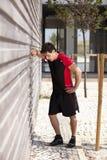 Athletet esaurito Immagini Stock Libere da Diritti