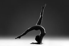 Athletic art nude Stock Photo