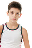Athletic boy Royalty Free Stock Photo