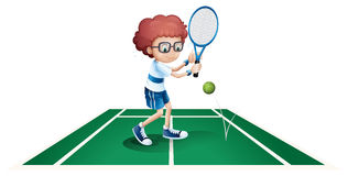 An athletic boy Royalty Free Stock Image