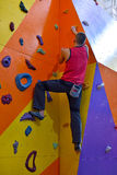 Athletic Climber Man Royalty Free Stock Photography