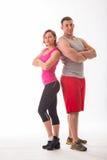 Athletic couple Stock Image