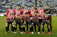 Athletic de Bilbao lineup Stock Photo