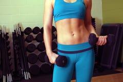 Athletic Female Torso (1) stock photos