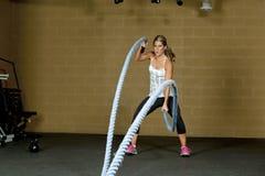 Athletic Female Trainer Royalty Free Stock Image