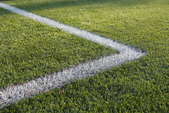 Athletic Field Marking Royalty Free Stock Photography