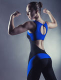 Athletic figure Royalty Free Stock Images