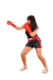 Athletic girl Stock Photography