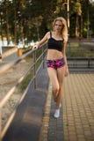 Athletic girl Stock Photos