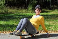Athletic girl Royalty Free Stock Image