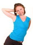 Athletic girl in sportswear Stock Image