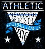 Athletic graphic design. Art fashion Stock Images