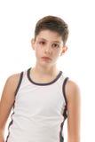 Athletic handsome boy Stock Photo
