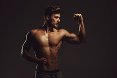 Athletic handsome man Stock Image
