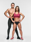 Athletic healthy people Stock Photos