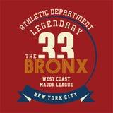 Athletic legendary new york Royalty Free Stock Image