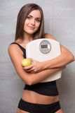 Athletic-looking young girl Royalty Free Stock Photography