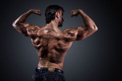 Athletic man Stock Images