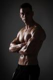 Athletic man posing Royalty Free Stock Photography
