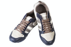 Athletic man's shoes Stock Photo