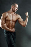 Athletic muscular man Stock Photo