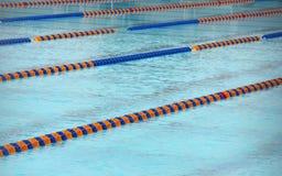 Athletic pool Stock Image