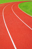 Athletic racetrack Royalty Free Stock Photography