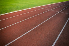 Athletic Running Track Close-Up Abstract Royalty Free Stock Images