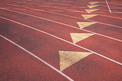 Athletic Running Track Close-Up Abstract Stock Photos