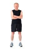 Athletic senior man Stock Photos