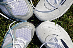 Athletic Shoes Royalty Free Stock Photos