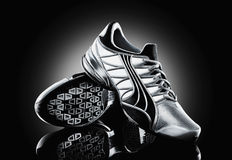 Athletic shoes Stock Image