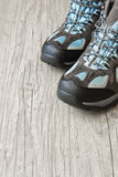 Athletic shoes Stock Photos