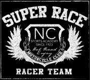 Athletic sport New York typography; t-shirt graphics; vectors Stock Image