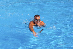 Athletic swimmer Royalty Free Stock Photo