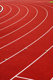 Athletic track. On sports stadium Royalty Free Stock Photo