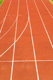 athletic track, athletics background Stock Photos
