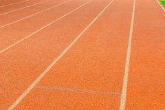 Athletic track Stock Photo