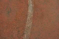 Athletic track filed Royalty Free Stock Images