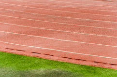 Athletic track Royalty Free Stock Photo