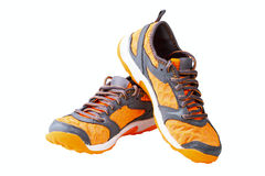 Athletic unisex shoes Royalty Free Stock Photos