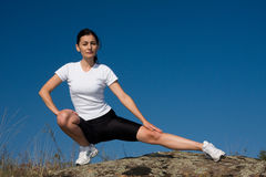 Athletic Woman Stock Photo